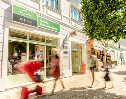 Retail photography Obuv Sona