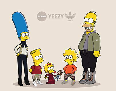 The Simpsons x Yeezy Season 3