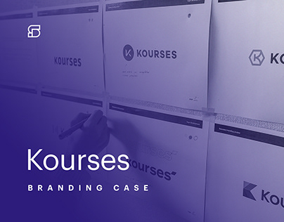 Kourses.com - brand and identity project