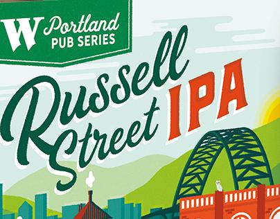 Widmer Portland Pub Series Russell Street IPA