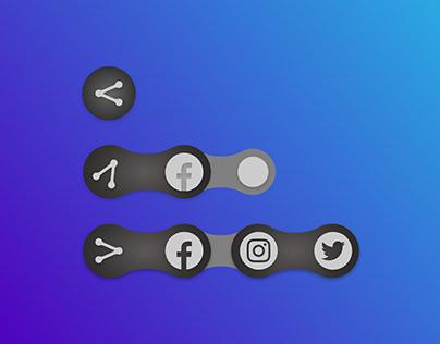 Daily UI 010 - Social Share Icons