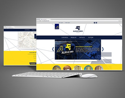 Alkilic.com Brand Identity And Corporate Website 2014