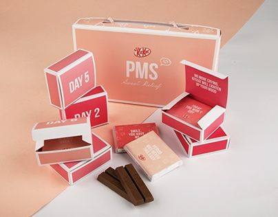 KitKat PMS Sweet Relief - Packaging Redesign