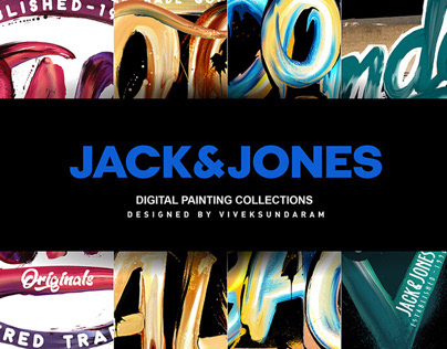 JACK&JONES - DIGITAL PAINTING COLLECTIONS/AW18