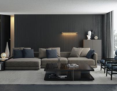Livingroom Poliform style
