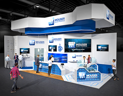 Mouser Exhibition Stand
