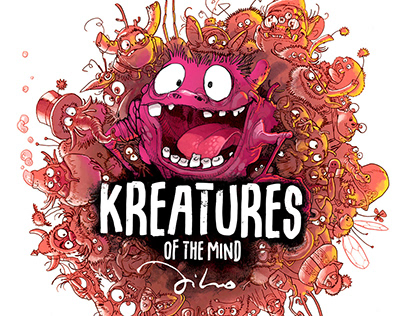 "Cover for ""Kreatures of the mind"""