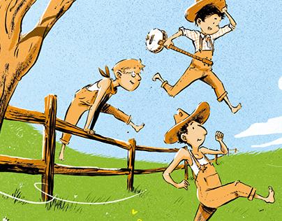 Les Garçons Vachers - Poster