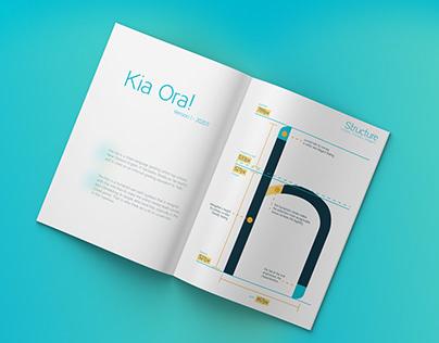 Free Typeface/Typography Design-Kia Ora