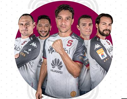 Campaña Tercer Uniforme Deportivo Saprissa 2019-2020