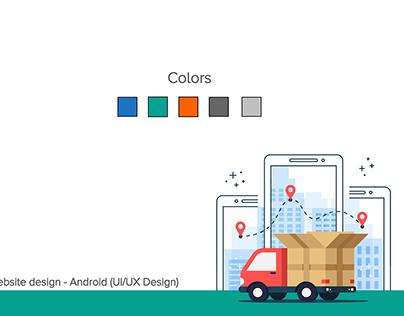 """My Shipment""   UI/UX Design"