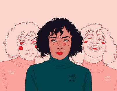 "Blog-Illustrations ""Womanhood"""