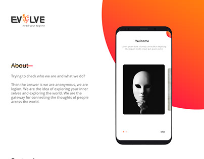 Evolve - Mobile App Design and Development