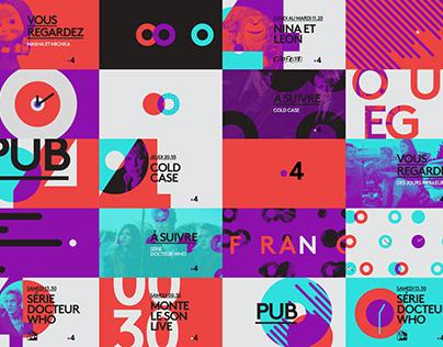 France 4. Channel Branding