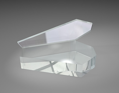 Coffin Models - Cinema 4D Practice