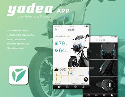 UI Design │Yadea Z3 App
