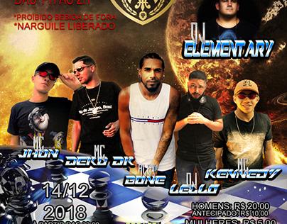 Flyer festa Bone's