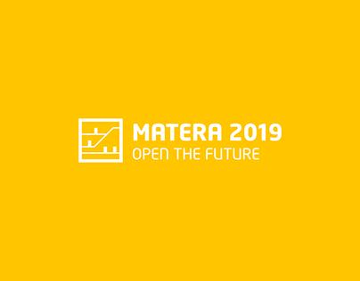 Matera 2019   Brand Identity