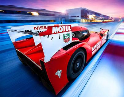 Nissan LMP1 le mans GT-R LM NISMO