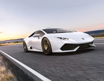Lamborghini Huracan // CGI