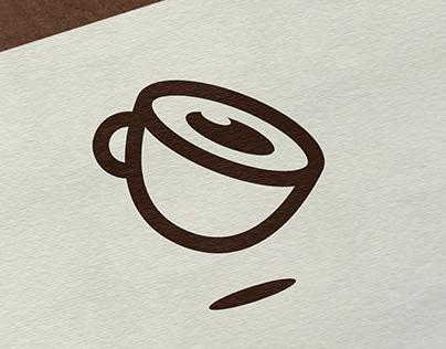 stay awake cafe | Logo Design