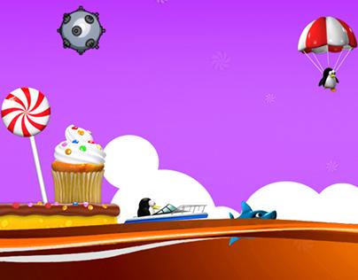 Super Penguin Rescue Mobile Game
