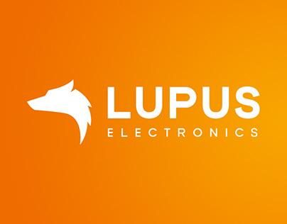 LUPUS ELECTRONICS Corporate Design & Website