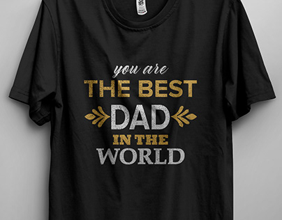 Father's Day T-shirt Design Bundle
