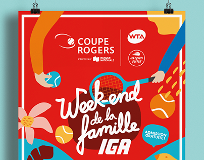 Coupe Rogers - Affiche week-end de la famille