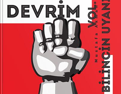 Book Cover Design / Dijital Devrim