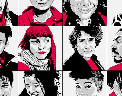 @ArtsEmergency Portraits