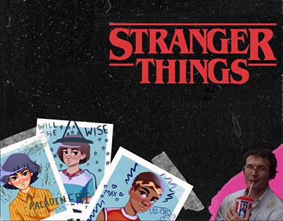 "School photo album ""Stranger Things"""