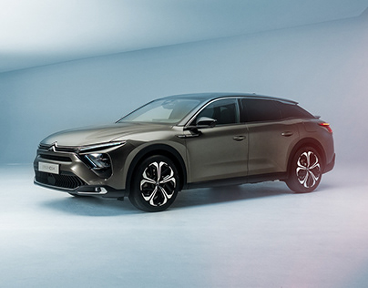 Citroën C5X, Studio shoot.