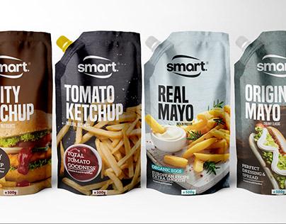 Mayonnaise & Ketchup packaging