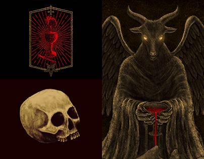 """Northwar """"Blood Mountains"""" artwork."""