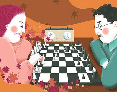 Xadrez para Meninas, Nova Escola