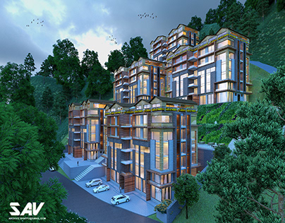 7 Heights Exteriors and 3d Floor plans