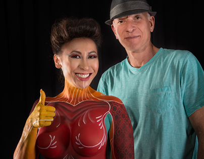 Body Painting by Luciano Paesani