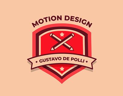 Animação Motion Design