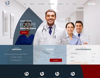 Criação de Site Clínica Dama Saúde