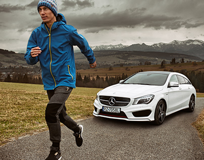 Mercedes-Amg CLA 45 4matic Shooting Brake, Kamil Stoch