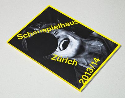SCHAUSPIELHAUS ZÜRICH Season 2015/16