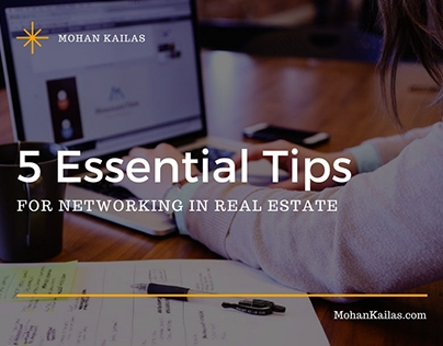 5 Essential Tips for Networking in Real Estate