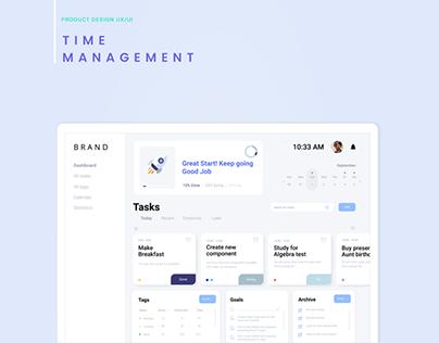 Time Management - Product Design UX/UI