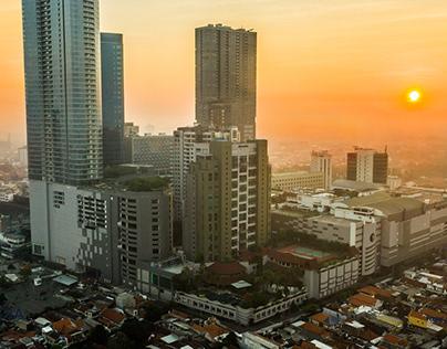 Sheraton & Four Points Surabaya - Aerial Photography