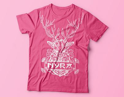 Nyra - TP Orientation Shirt Design