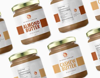 Nut Butter Lovers Club Branding