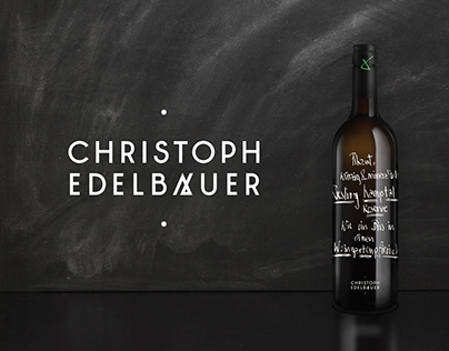 Christoph Edelbauer Branding + Packaging