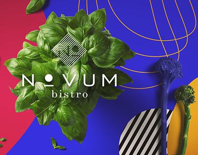 Novum Bistro - communication materials