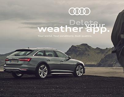 Audi quattro Campaign